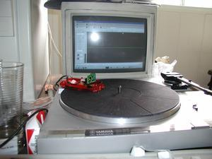 Toqer's optical turntable